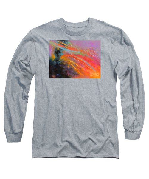 Fantasies In Space Series Painting. Celestial Symphony Long Sleeve T-Shirt