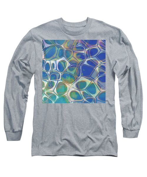 Cell Abstract 13 Long Sleeve T-Shirt by Edward Fielding