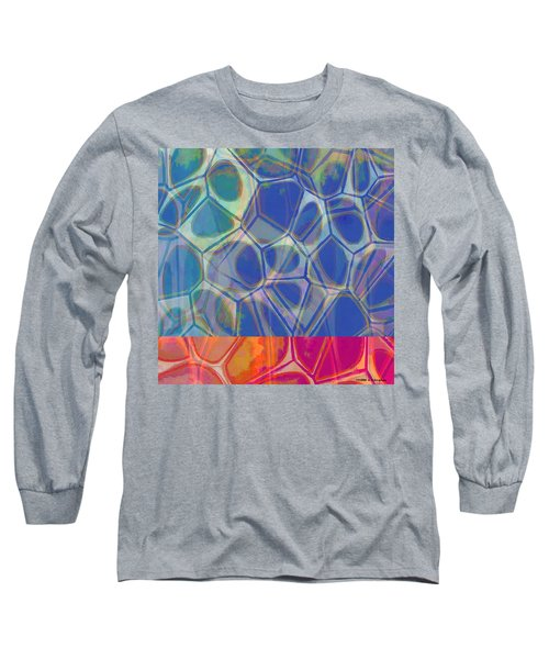 Cell Abstract One Long Sleeve T-Shirt by Edward Fielding