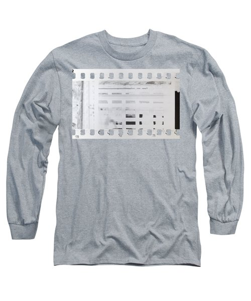 Long Sleeve T-Shirt featuring the photograph Celluloid Film by Michal Boubin
