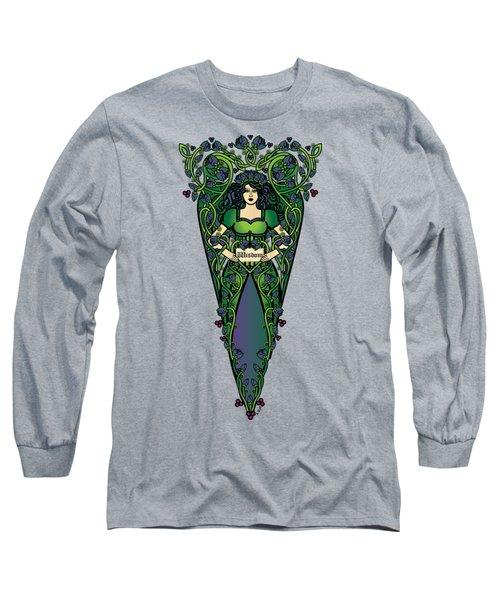 Celtic Forest Fairy - Wisdom Long Sleeve T-Shirt