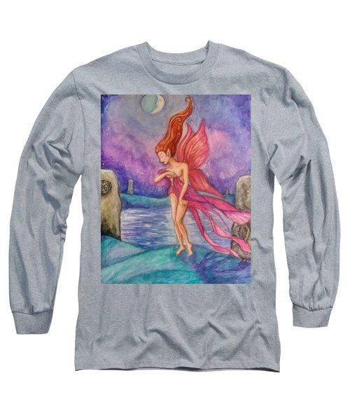 Celtic Moon Long Sleeve T-Shirt