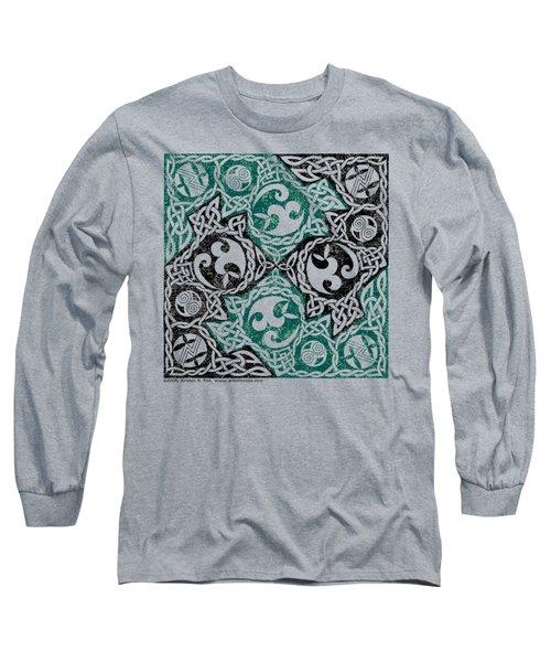 Celtic Puzzle Square Long Sleeve T-Shirt