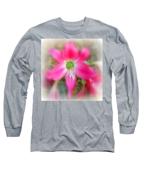 Center Attraction Long Sleeve T-Shirt by Myrna Bradshaw