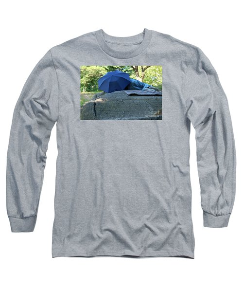 Central Park Beauty Rest Long Sleeve T-Shirt by Vinnie Oakes