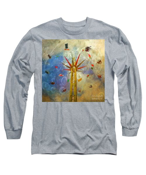 Centre Of The Universe Long Sleeve T-Shirt by LemonArt Photography