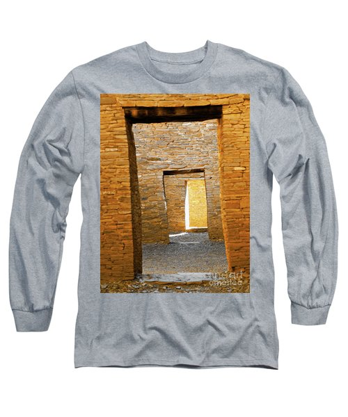 Chaco Canyon Doorways Long Sleeve T-Shirt