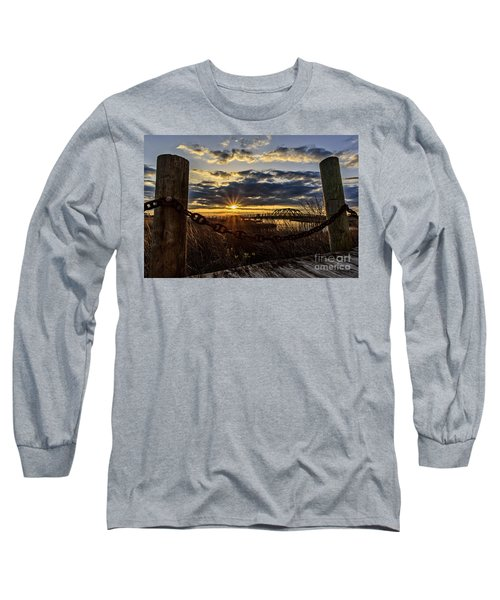 Chained View Long Sleeve T-Shirt