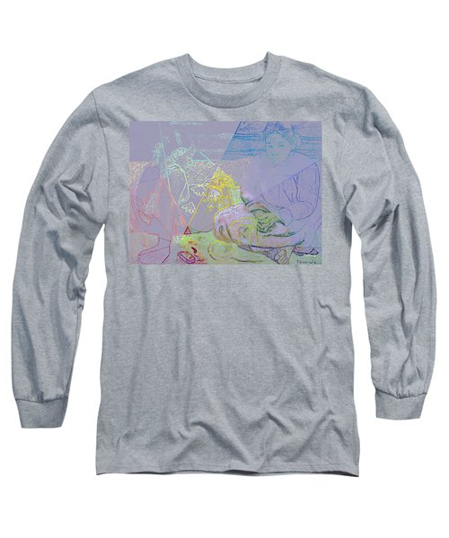 Chalkboard Long Sleeve T-Shirt