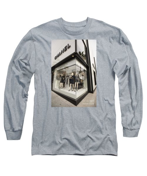 Chanel Long Sleeve T-Shirt by David Bearden