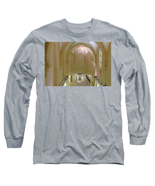 Long Sleeve T-Shirt featuring the photograph Chapelle Granet by August Timmermans