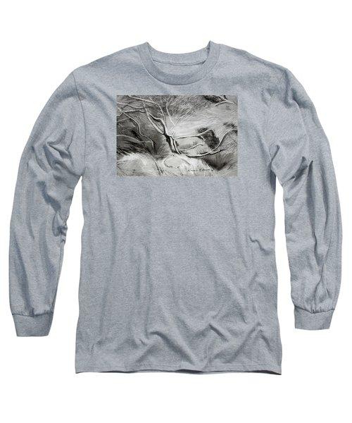Charcoal Tree Long Sleeve T-Shirt