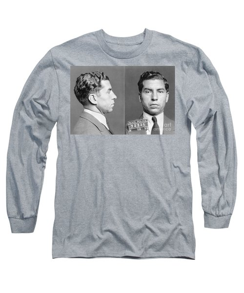 Charles Lucky Luciano Long Sleeve T-Shirt