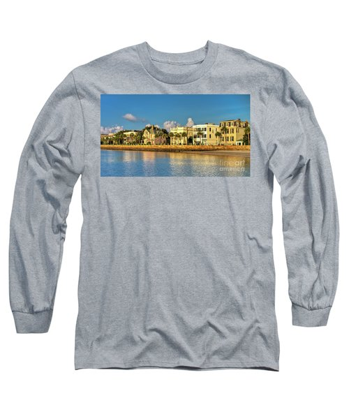 Charleston Battery Row Of Homes  Long Sleeve T-Shirt