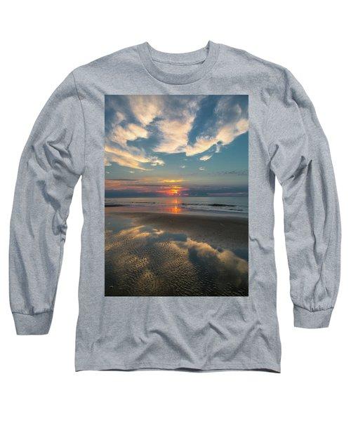 Charleston Coast Sunrise Long Sleeve T-Shirt