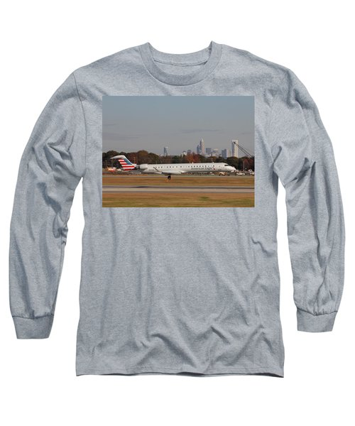 Charlotte Douglas International Airport 17 Long Sleeve T-Shirt