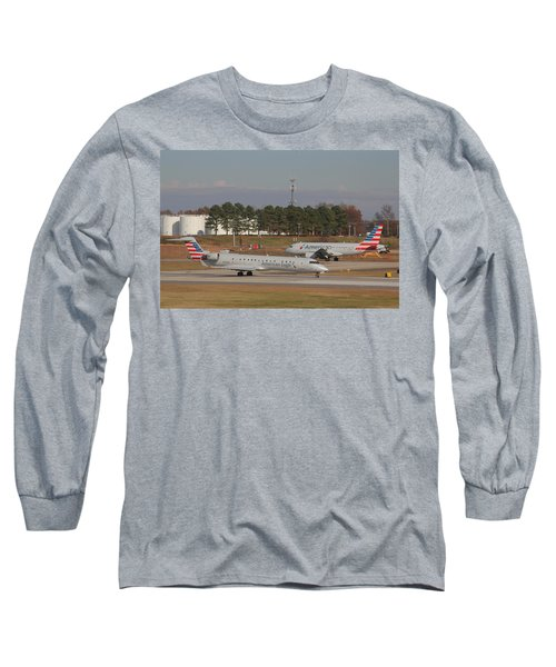 Charlotte Douglas International Airport 21 Long Sleeve T-Shirt