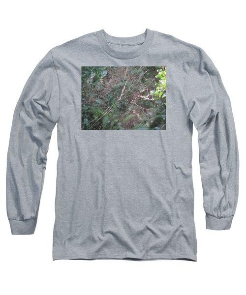 Charlotte's Web Long Sleeve T-Shirt by Charlotte Gray