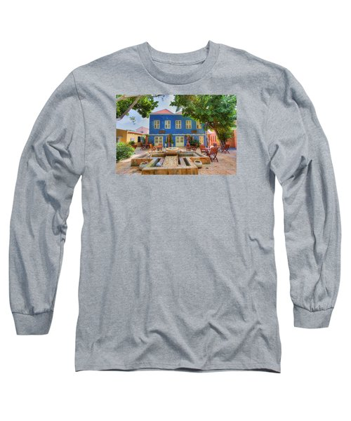 Charming Courtyard Long Sleeve T-Shirt