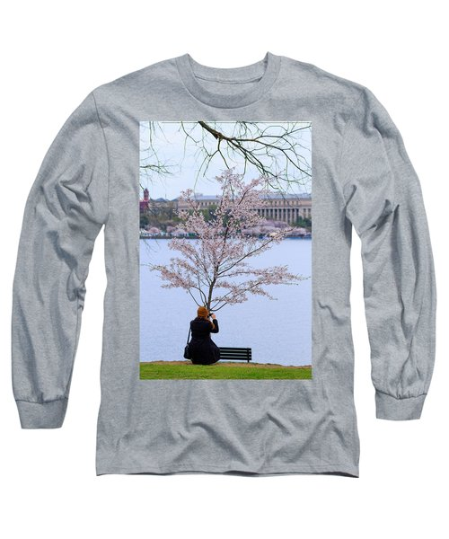 Chasing Blossoms Long Sleeve T-Shirt