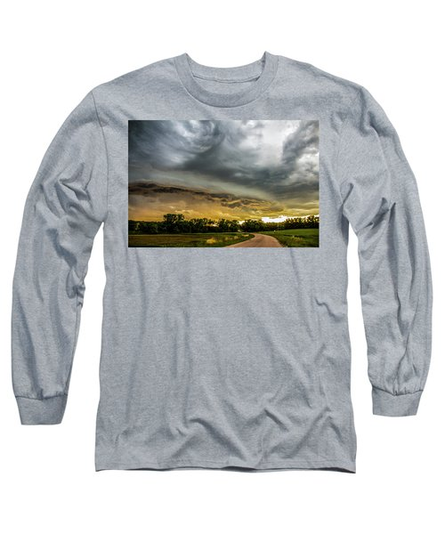 Chasing Nebraska Stormscapes 074 Long Sleeve T-Shirt