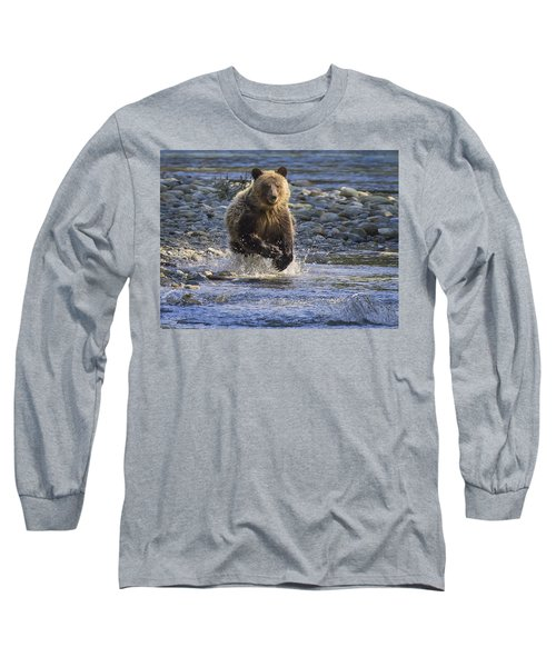 Chasing Salmon Long Sleeve T-Shirt