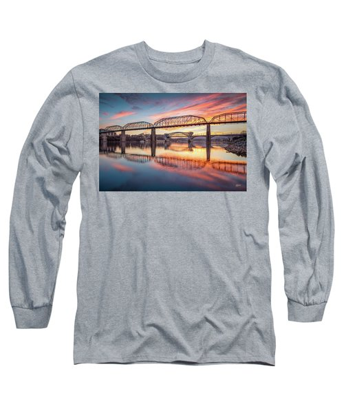 Chattanooga Sunset 5 Long Sleeve T-Shirt