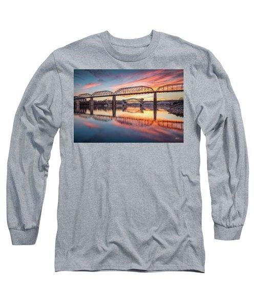 Chattanooga Sunset 5 Long Sleeve T-Shirt