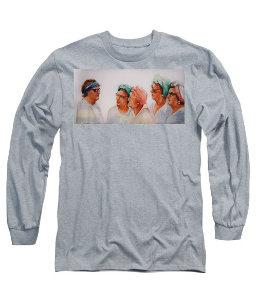 Paradise Trailer Park Welcoming Committee Long Sleeve T-Shirt by Jean Cormier