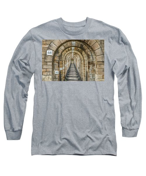 Chaumont Viaduct France Long Sleeve T-Shirt