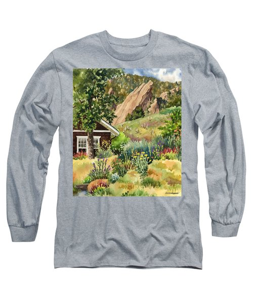 Chautauqua Cottage Long Sleeve T-Shirt by Anne Gifford
