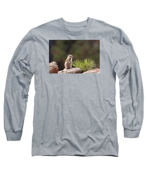 Long Sleeve T-Shirt featuring the photograph Checking Things Out by Monte Stevens
