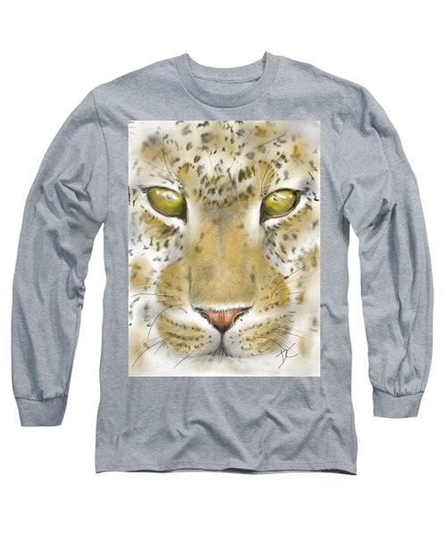 Cheetah Face Long Sleeve T-Shirt
