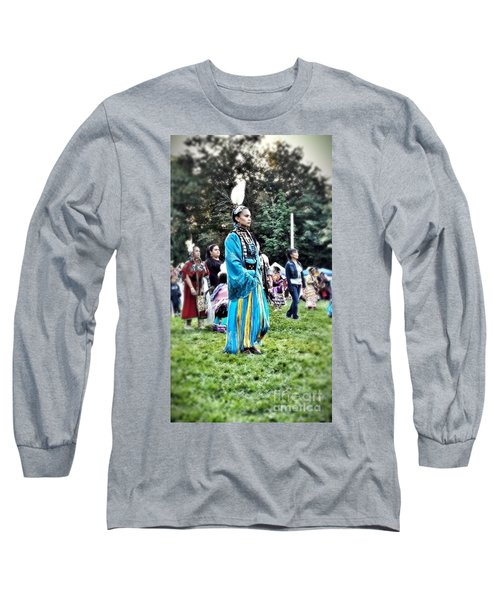 Cherokee Warrior Long Sleeve T-Shirt