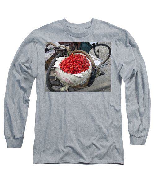 Cherries And Berries Long Sleeve T-Shirt