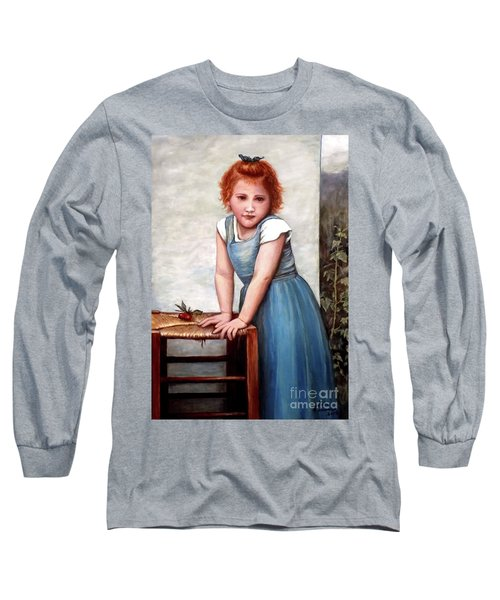 Long Sleeve T-Shirt featuring the painting Cherries by Judy Kirouac