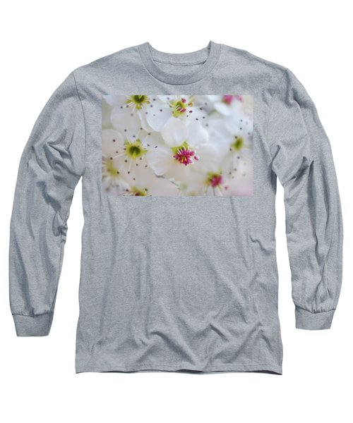 Long Sleeve T-Shirt featuring the photograph Cherry Blooms by Darren White