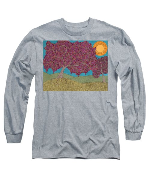 Cherry Blossom Spring Long Sleeve T-Shirt