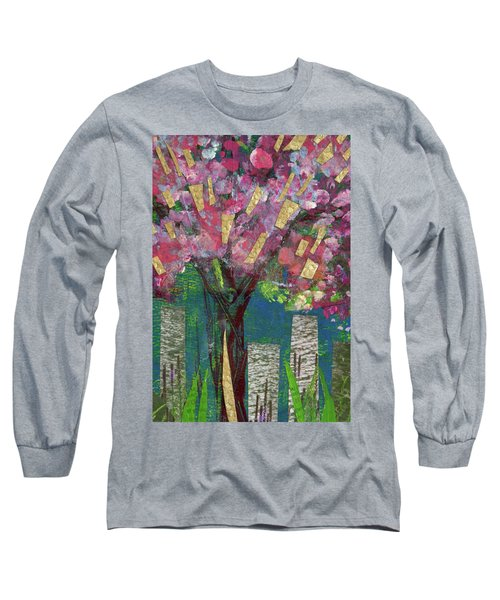 Cherry Blossom Too Long Sleeve T-Shirt