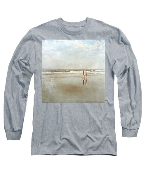 Cherry Grove Beach Walk Long Sleeve T-Shirt