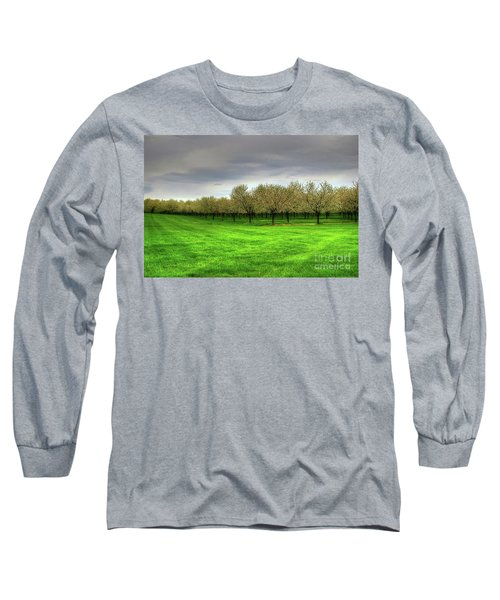 Cherry Trees Forever Long Sleeve T-Shirt by Randy Pollard