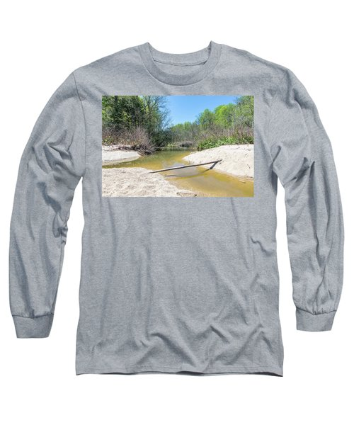 Long Sleeve T-Shirt featuring the photograph Chesapeake Tributary by Charles Kraus
