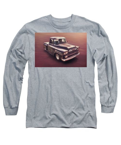 Chevrolet Apache Pickup Long Sleeve T-Shirt