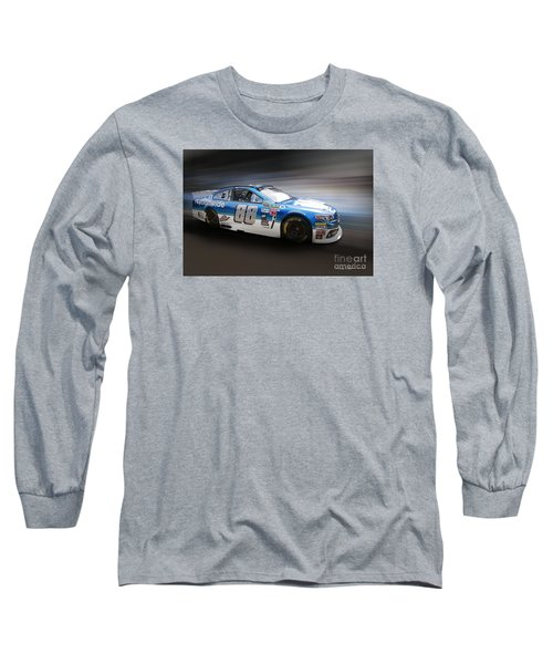 Chevrolet Ss Nascar Long Sleeve T-Shirt by Roger Lighterness
