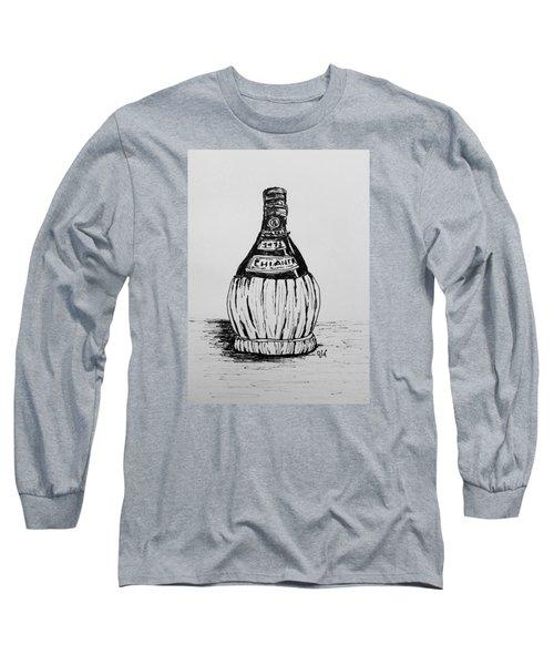 Chianti Bottle Long Sleeve T-Shirt