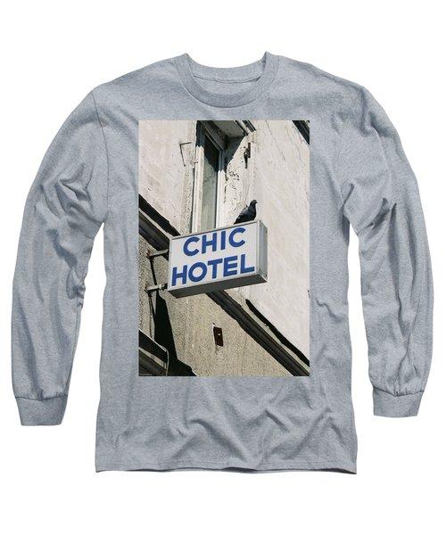 Chic Hotel Long Sleeve T-Shirt