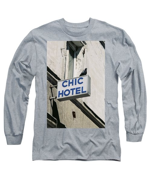 Chic Hotel Long Sleeve T-Shirt
