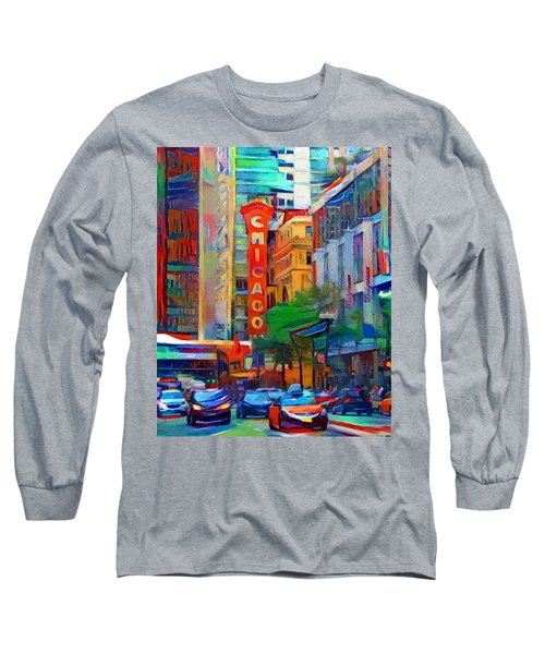 Chicago Colors 3 Long Sleeve T-Shirt