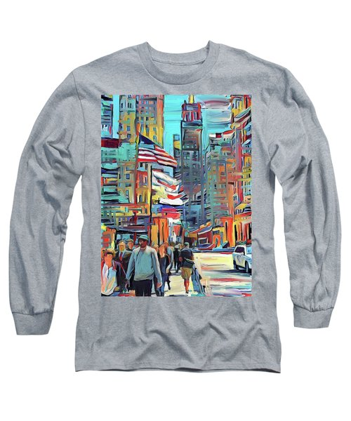 Chicago Colors 5 Long Sleeve T-Shirt
