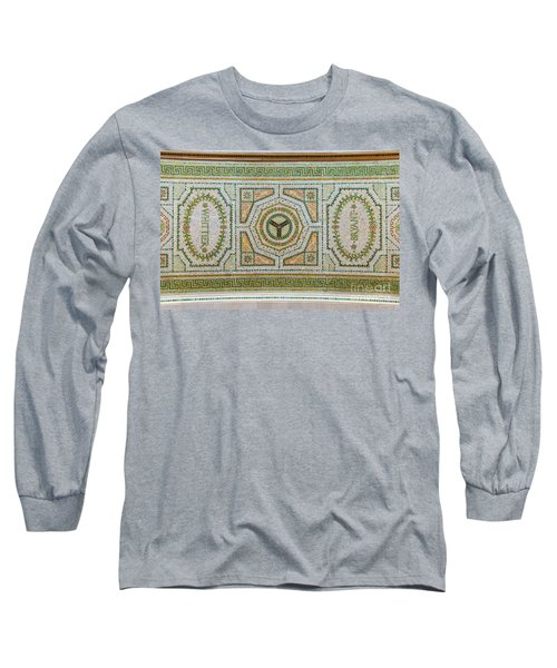 Chicago Cultural Center Ceiling With Y Symbol Long Sleeve T-Shirt